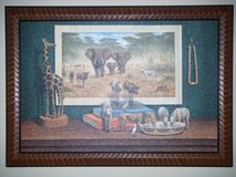 Safari Scene by Artist Bo Newell. PERFECT FOR A MAN CAVE in Spring, Texas