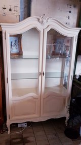 Antique Creme white Hutch in Ramstein, Germany