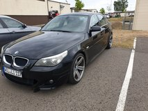 BMW 520I M Sport Package   Black in Spangdahlem, Germany