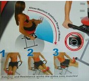Red XL core/abdominal exerciser in Joliet, Illinois