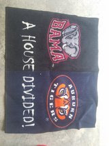 House Divided Alabama and Auburn Floor Mat in Beaufort, South Carolina