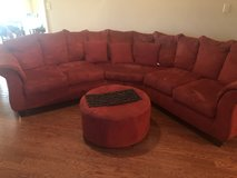 Ottoman and sectional in Warner Robins, Georgia
