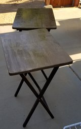Two Small Fold Up Tables in 29 Palms, California