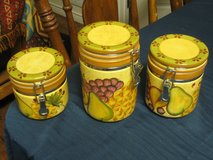 Ceramic Canisters by Style Eyes in Kingwood, Texas