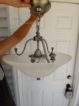 Hanging ceiling lamp in Westmont, Illinois