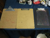 Three Letter Size Clip Boards $5 total in Kingwood, Texas