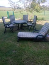 Reduced!!Patio Set/ Garden furniture/ Chair/ table/ Gartenmöbel in Ramstein, Germany