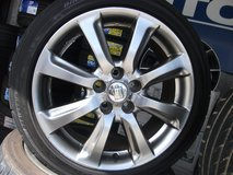 18inch rims and tires set (Toyota original) in Okinawa, Japan
