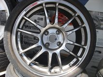 17inch rims and tires set (1) in Okinawa, Japan