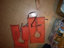 Life jackets in Fort Knox, Kentucky