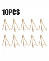 Lot of 10 Mini Easels in Beaufort, South Carolina