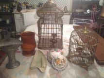 Antique Brass Bird Cages in Bartlett, Illinois