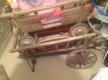 Antique German Wooden Carts in Bartlett, Illinois