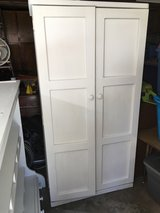 Beautiful Solid Wood White Wardrobe/Armoire (JUST REDUCED!) in Alamogordo, New Mexico