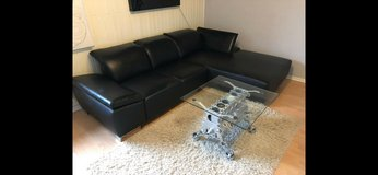 Black Couch for sale in Spangdahlem, Germany