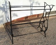 cast iron antique treadle sewing machine base legs in 29 Palms, California