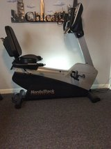 "NordicTrack Recumbent Bike with 19"" Sharp TV in Naperville, Illinois"