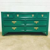 Dresser Kelly green dixie dresser delivery available  see me at Etsy Dianemarieshome in Yorkville, Illinois