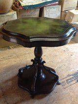 Victorian Leather Top Table in Beaufort, South Carolina