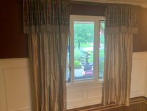 Drapes - Window Treatments - Blinds - Dining Room - Living Room in Naperville, Illinois