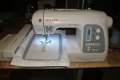 Singer Futura XL-550 Sewing, Quilting and Embroidery Machine in Fort Riley, Kansas
