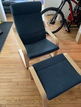 IKEA Chair and foot rest in Fort Belvoir, Virginia