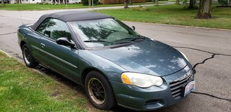 2006 Chrysler Sebring Convertible in Joliet, Illinois