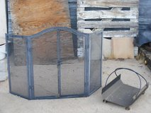 fire place screen guard and log holder in 29 Palms, California