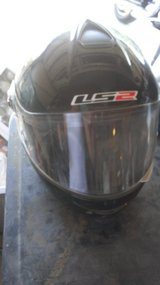 2 motor cycle helmets in Yucca Valley, California