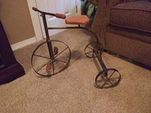 Antique tricycle decorative replica in Spring, Texas