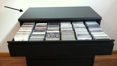 Can-Am storage cabinet Mica Top Single length black in Westmont, Illinois