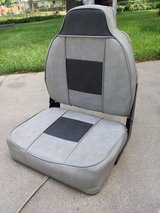 Boat seat in Aurora, Illinois
