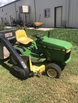 """John Deere GT262 with 48"""" deck and bagger in Alamogordo, New Mexico"""