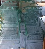 Metal Patio set, table chairs in Wiesbaden, GE