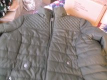 ladies dark green winter jacket size 2x in Alamogordo, New Mexico
