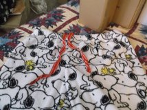 snoopy fleece lounge pants size large in Alamogordo, New Mexico