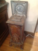 Antique Cast Iron/Ceramic Stove in Chicago, Illinois