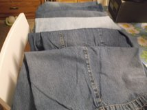 6 pair of denim shorts size 16 in Alamogordo, New Mexico