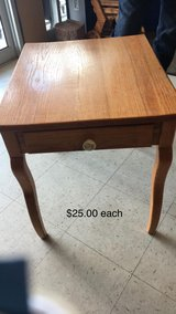 End Tables (4 Available) with Draw in Fort Leonard Wood, Missouri