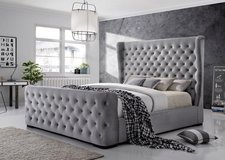 UF IN STOCK - Ritz American Queen Size Bed - Brand New! in Ramstein, Germany