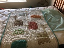 pottery barn quilt, sheet, bumper, and mobile in Westmont, Illinois