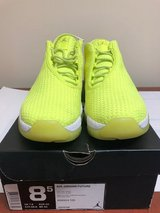 Air Jordan Future Yellow Size 8.5 Basketball Shoes in Naperville, Illinois