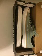 Brand New Blue Converse in Okinawa, Japan