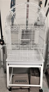 HQ Dometop Small Parrot Bird Cage in Kingwood, Texas