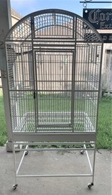 Dometop Parrot Bird Cage 32x23 in Kingwood, Texas