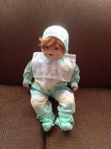 """Adorable Cathlay Collection Porcelain Doll.  # 9902A, 19"""" in Ramstein, Germany"""