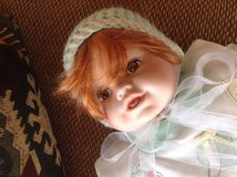 """Porcelain Baby Doll, Cathlyn Colection # 9902A 19"""" in Ramstein, Germany"""