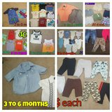 58 pieces baby boy 3 to 6 months in Converse, Texas