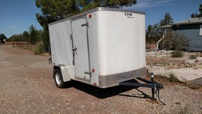 Look 2016 5 by 10' enclosed trailer in Alamogordo, New Mexico