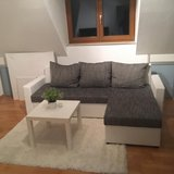 Mini Couch white grey new in Wiesbaden, GE